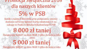 Promocja Świąteczna 2016