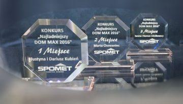 """Rozwiązanie konkursu """"Najładniejszy DOM MAX 2016 """"."""